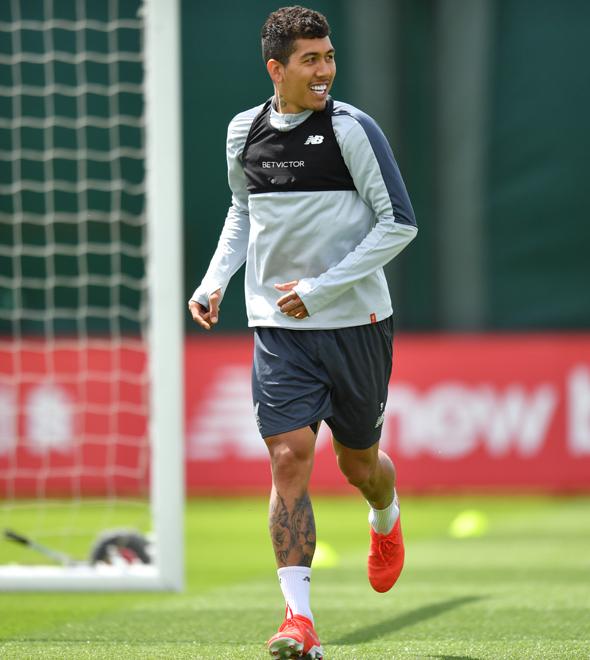 Roberto Firmino deve ser titular do Liverpool na final da Liga dos Campeões