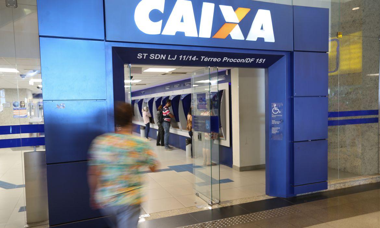 Agência da Caixa. no Brasil